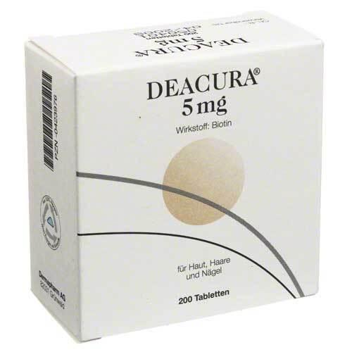 Deacura 5 mg Tabletten - 1