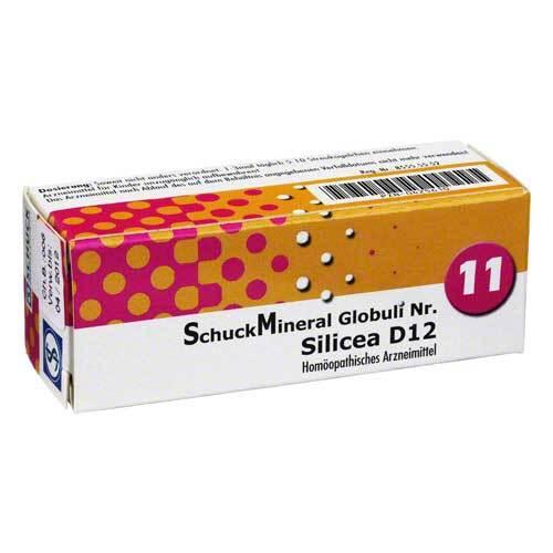 Schuckmineral Globuli 11 Sil - 1