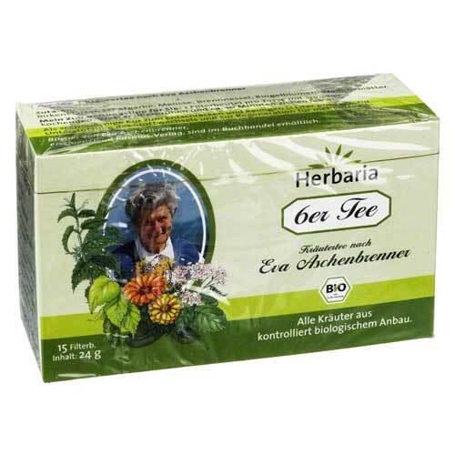 6ER Tee nach Eva Aschenbrenner Filterbeutel - 1