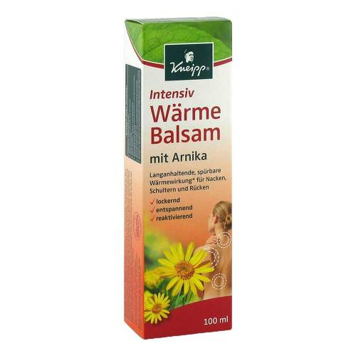 Kneipp Intensiv Wärme Balsam mit Arnika - 1