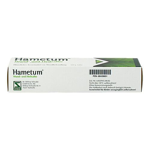 Hametum Wund- und Heilsalbe - 3