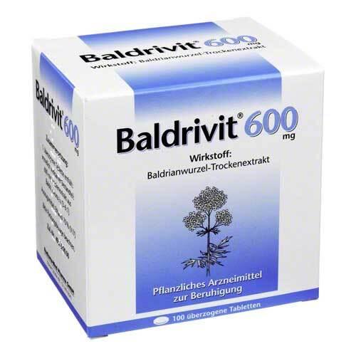 Baldrivit 600 mg überzogene Tabletten - 1