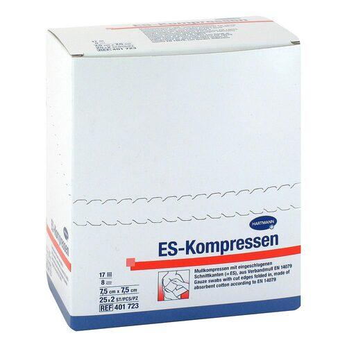 ES-Kompressen steril 7,5x7,5 cm 8fach - 1