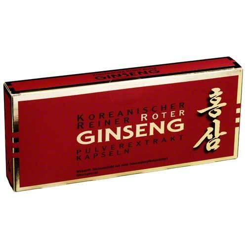 Roter Ginseng Extrakt Kapsel - 1