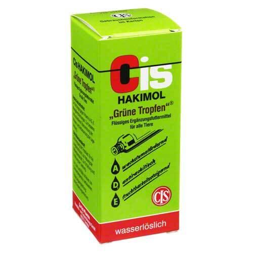 Hakimol grüne wasserlösl. Tropfen vet. (für Tiere) - 1