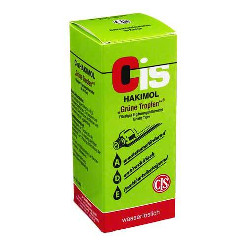 Hakimol grüne Wasserlösung vet. (für Tiere) - 1