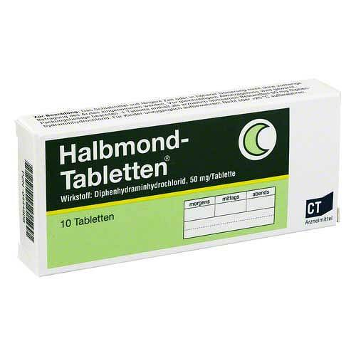 Halbmond Tabletten - 1