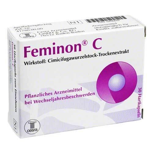 Feminon C Hartkapseln - 1