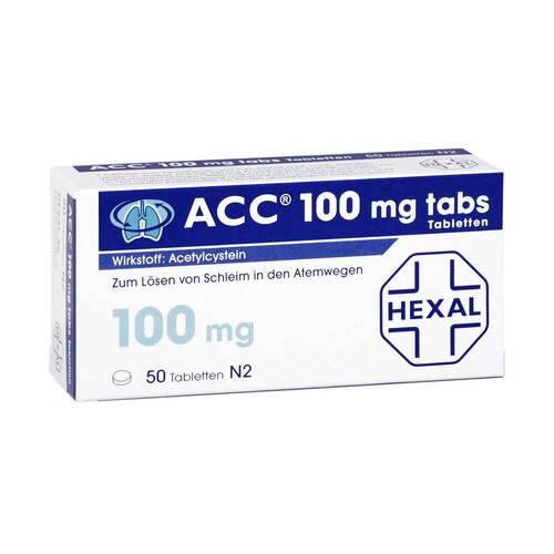 ACC 100 tabs Tabletten - 1