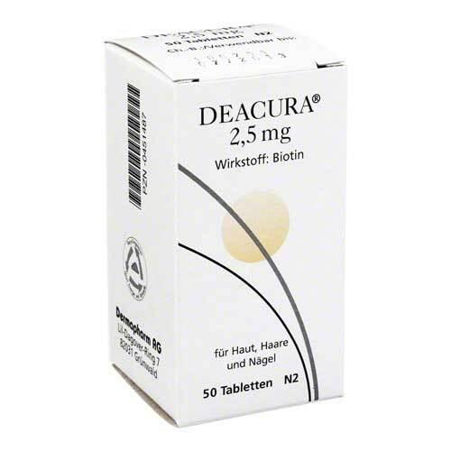 Deacura 2,5 mg Tabletten - 1