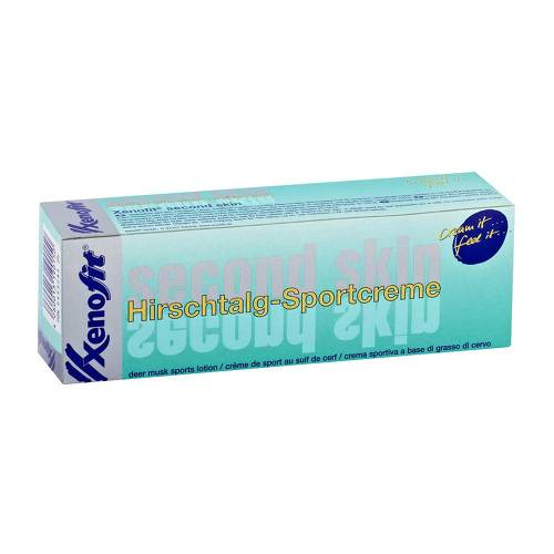 Xenofit Second Skin Hirschtalg-Sportcreme - 1