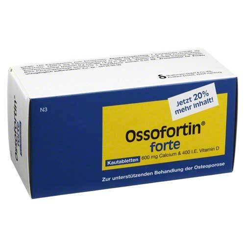 Ossofortin forte Kautabletten - 1