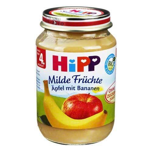 Hipp Früchte Äpfel mit Bananen - 1