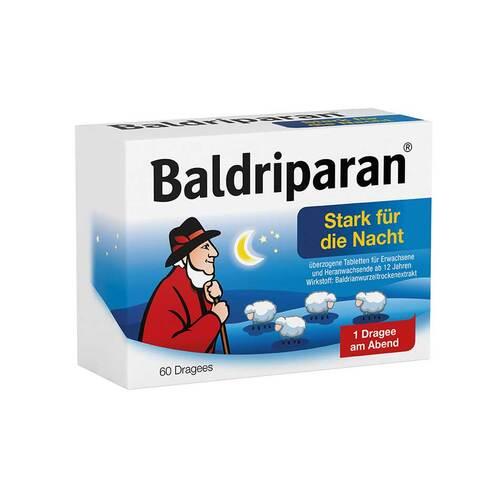 Baldriparan Stark für die Nacht überzogene Tabletten - 1