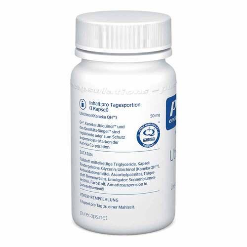 Pure Encapsulations Ubiquinol QH 50 mg Kapseln - 3