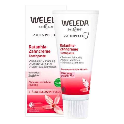 Weleda Ratanhia-Zahncreme - 1