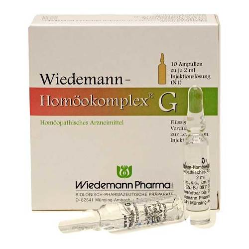Wiedemann Homöokomplex G Ampullen - 1