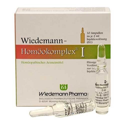 Wiedemann Homöokomplex I Ampullen - 1