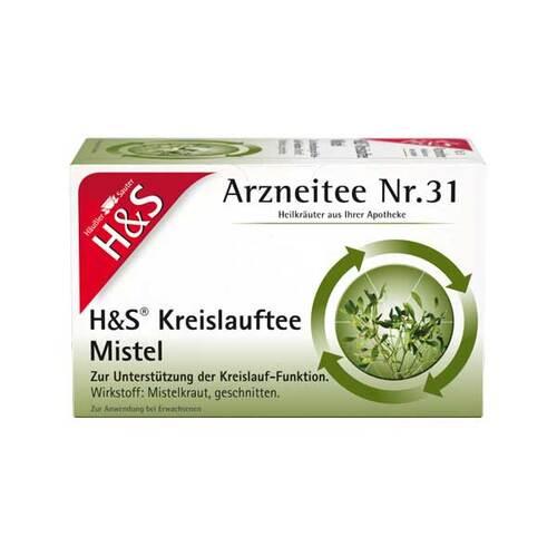 H&S Kreislauftee Mistel Filterbeutel - 1