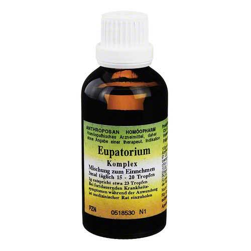 Eupatorium Erkältungs Complex Tropfen - 1