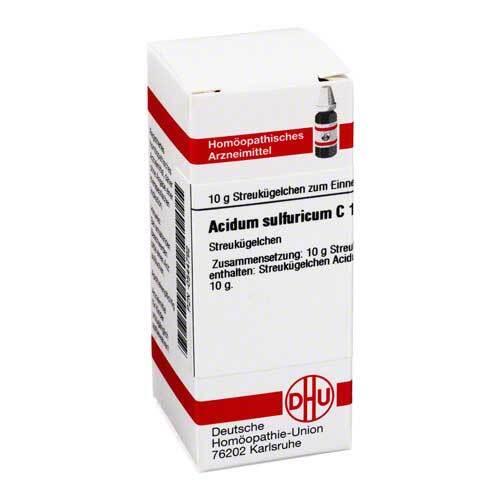 DHU Acidum sulfuricum C 12 Globuli - 1