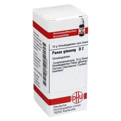 Panax Ginseng D 2 Globuli - 1