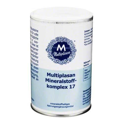 Multiplasan Mineralstoffkompex 17 Tabletten - 1