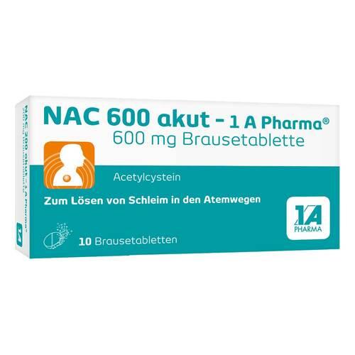 NAC 600 akut 1A Pharma Brausetabletten - 1