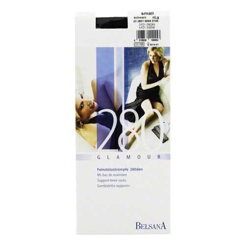 Belsana glamour AD 280 d.norm.S schwarz mit Spitze - 1