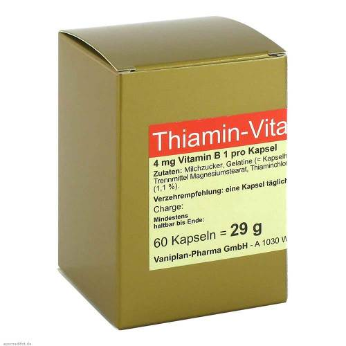 Thiamin Kapseln Vitamin B1 - 1