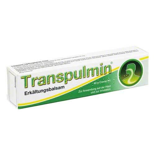 Transpulmin Erkältungsbalsam - 1