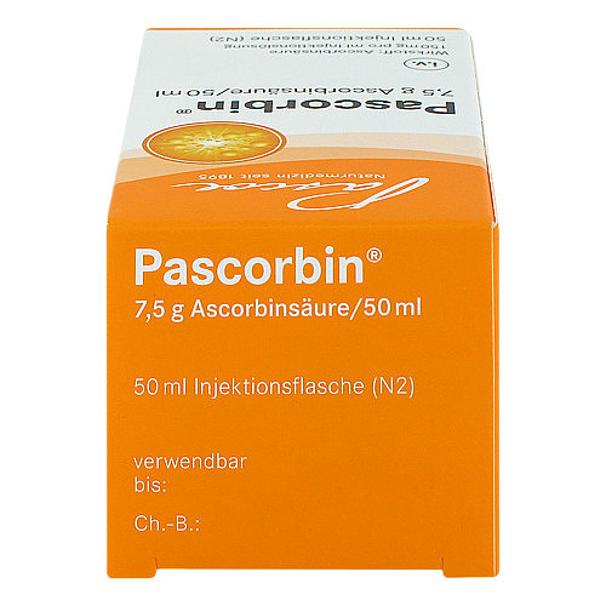 Pascorbin 7,5 g Ascorbinsäure / 50ml Injektionslösung - 4