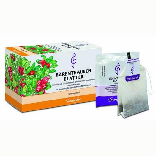 Bärentraubenblätter Filterbeutel - 1