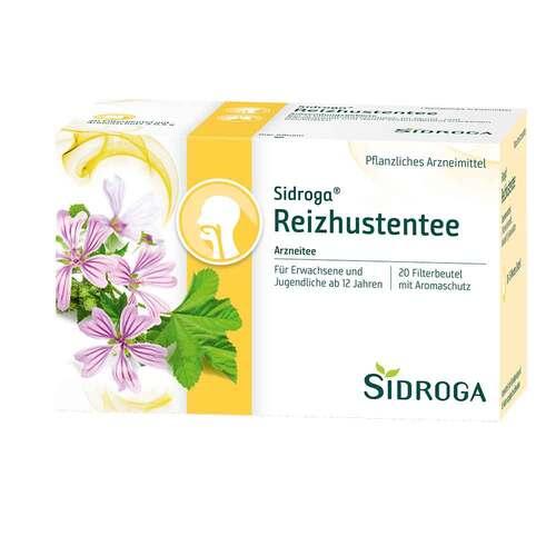 Sidroga Reizhustentee Filterbeutel - 1