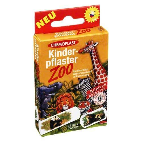 Kinderpflaster Zoo 2 Größen - 1