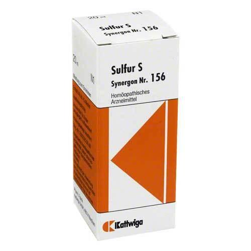 Synergon 156 Sulfur S Tropfe - 1