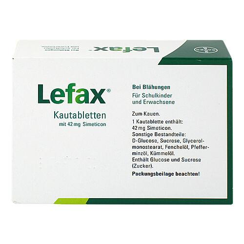 Lefax Kautabletten - 2