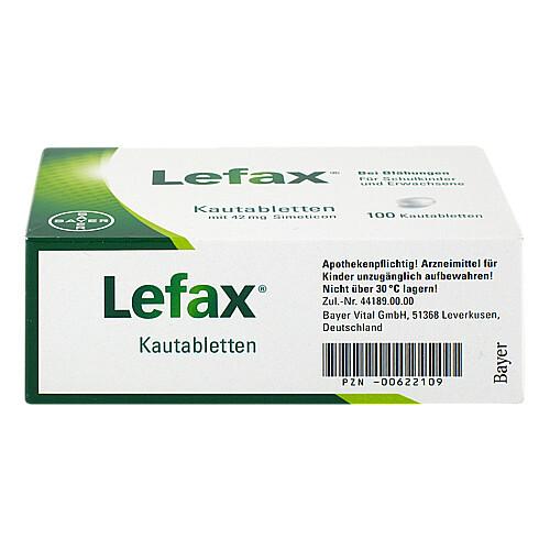Lefax Kautabletten - 3