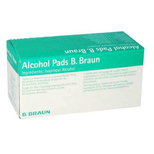 Alcohol Pads B.Braun Tupfer - 1