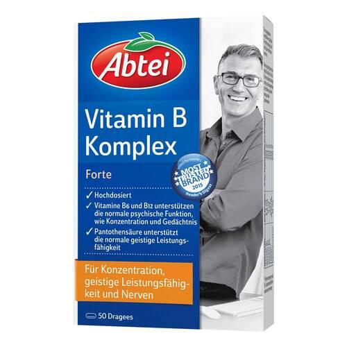 Abtei Vitamin B Komplex forte überzogene Tabletten - 1