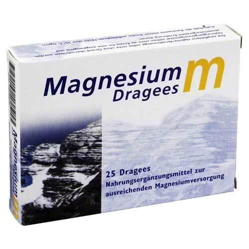 Magnesium M Dragees - 1