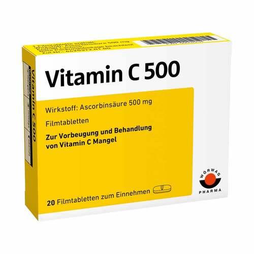 Vitamin C 500 Filmtabletten - 1