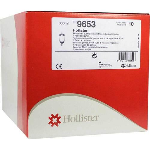 Hollister Urin Beinbeutel mit Abl - 1