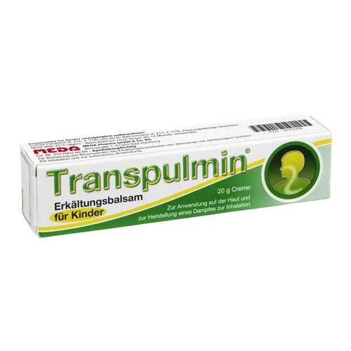 Transpulmin Erkältungsbalsam für Kinder - 1
