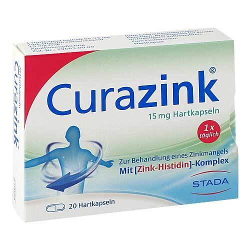 Curazink Hartkapseln - 1