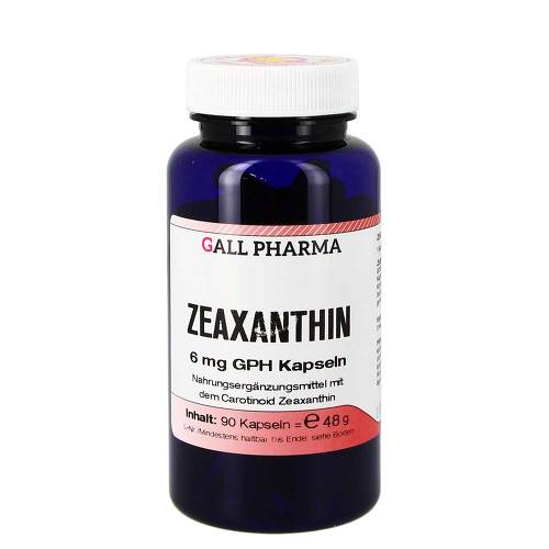 Zeaxanthin 6 mg GPH Kapseln - 1