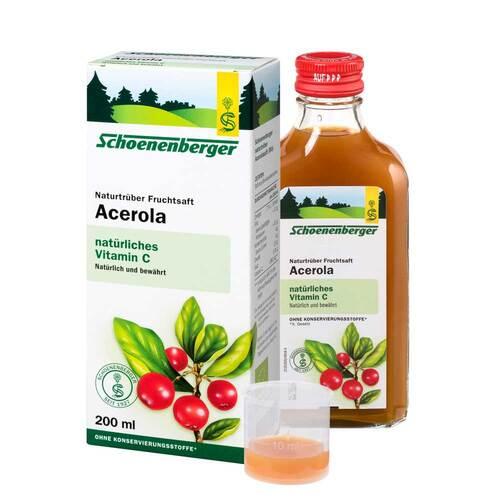 Acerola Saft Schoenenberger - 1