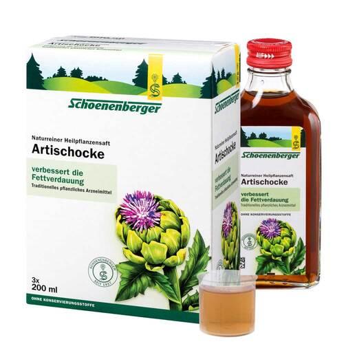 Artischocken Saft Schoenenberger - 1