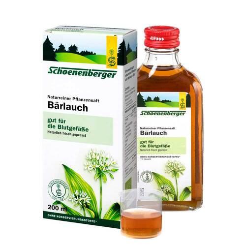 Bärlauch Saft Schoenenberger - 1
