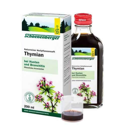 Thymian Saft Schoenenberger - 1
